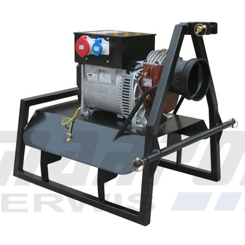 Aktualne Agregat Ciągnikowy 22 kVA AVR WOM Prądnica LINZ electric Sumera Motor GR91